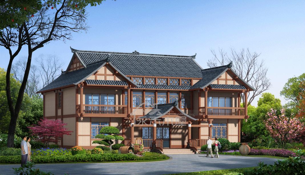 木屋厂家轻型木结构01